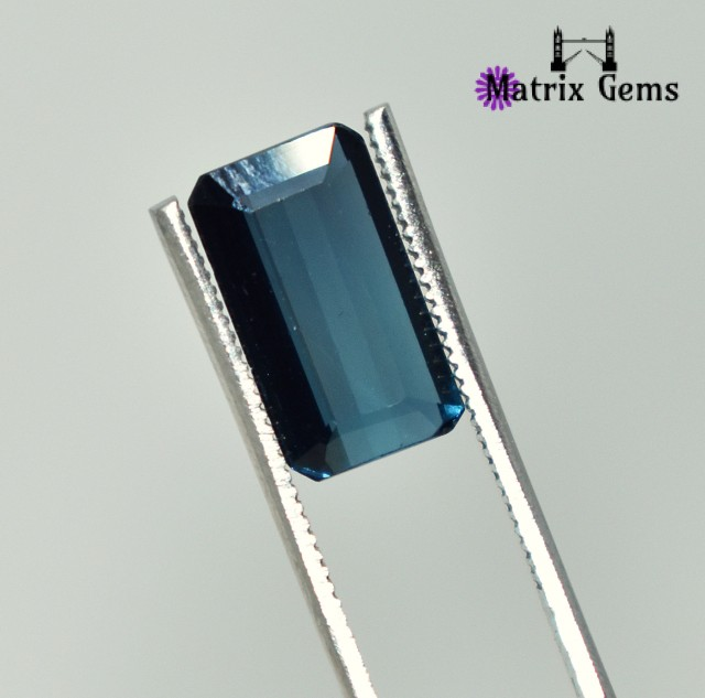2.05 Carats Stunning !! Blue Tourmaline Cut Stone Specially for Rings