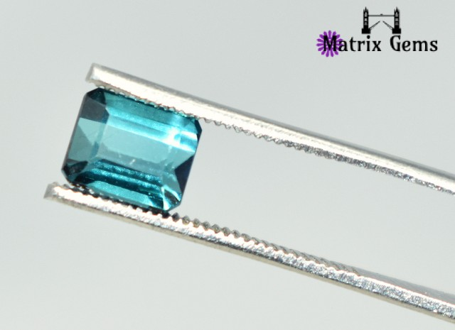 1.30 cts Superb !!Tourmaline Blue Cut Stone Specially for Rings