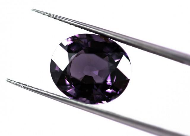 IGI Grey Purple Spinel 4.60 ct Sri Lanka GPC Lab