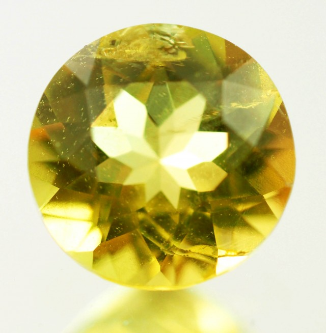 0.75 CTS -CERTIFIED  NATURAL YELLOW BERYL [SAP489]