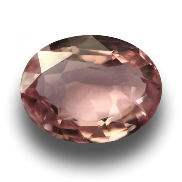 1.52 Carats | Natural  Pinkish Orange Sapphire | Loose Gemstone | Sri Lanka