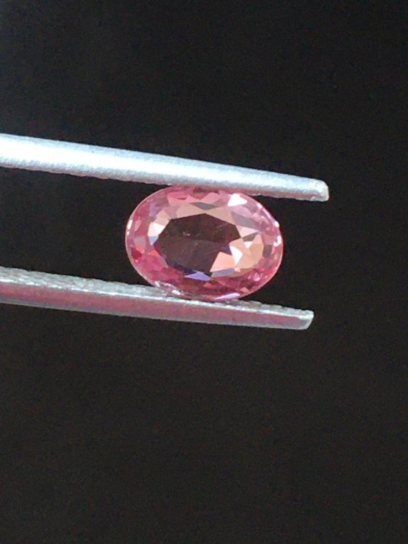Natural Unheated Pinkish Orange Sapphire|Loose Gemstone|Sri Lanka