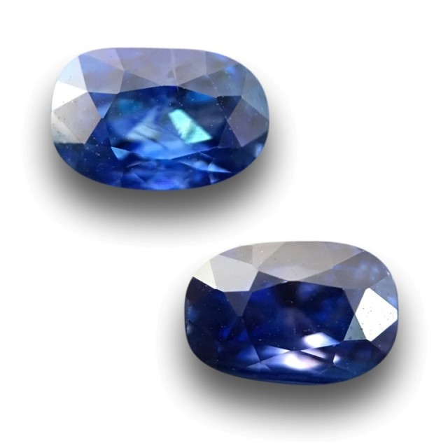 0.96 / 1.04 CTS   Natural Blue sapphire  Loose Gemstone New  Sri Lanka