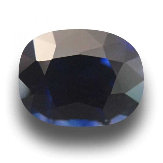 1.18 CTS Natural Medium Dark Blue Sapphire |Gemstone|Certified| Sri Lanka