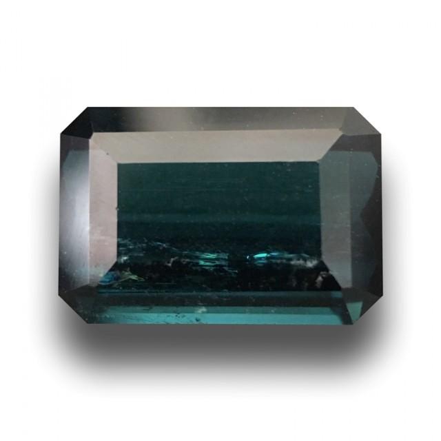 4.93 Carats   Natural Green Tourmaline  Loose Gemstone New  Sri Lanka