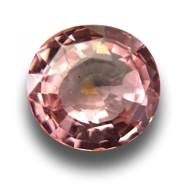 1.06 Carats  Natural Unheated padparadscha  Loose Gemstone  Sri Lanka