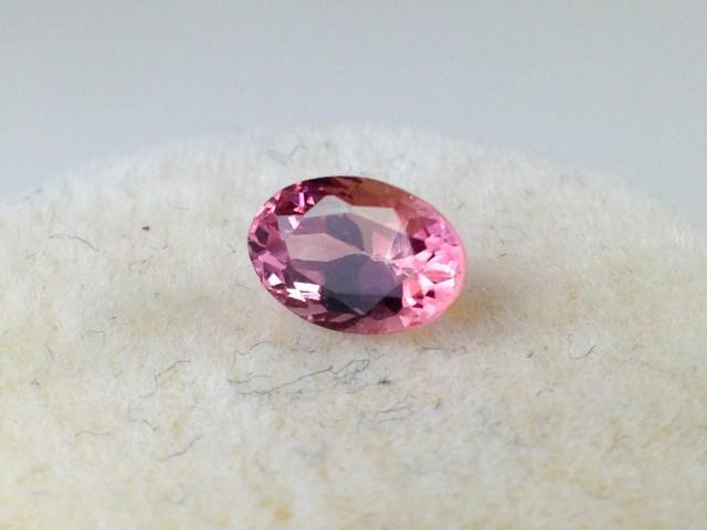 0.61 ct Tourmaline - Oval Cut Purplish Pink