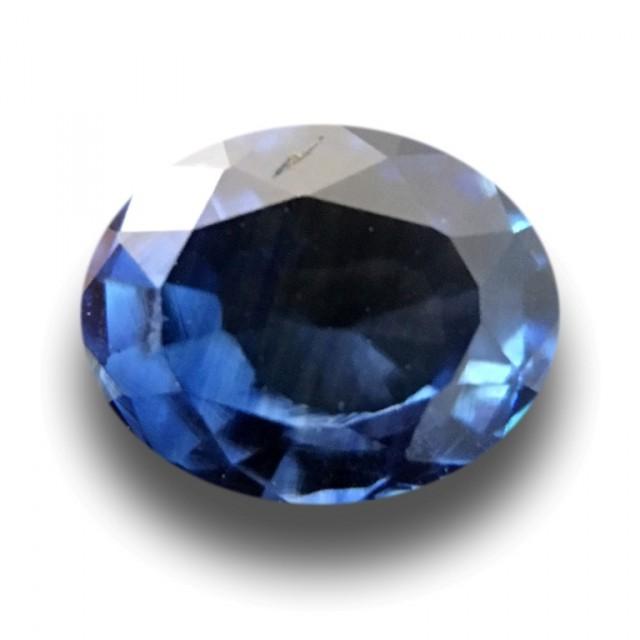 0.65 CTS Natural Blue sapphire |Loose Gemstone|New Certified| Sri Lanka