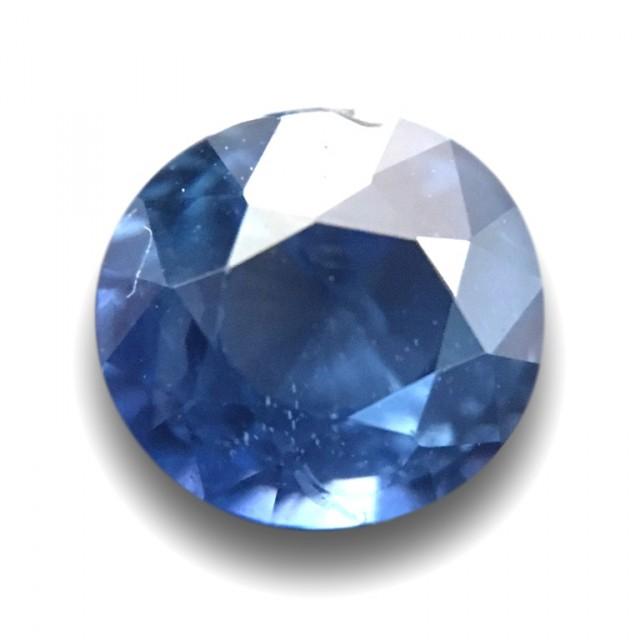 1.12 CTS | Natural Blue sapphire |Loose Gemstone|New Certified| Sri Lanka