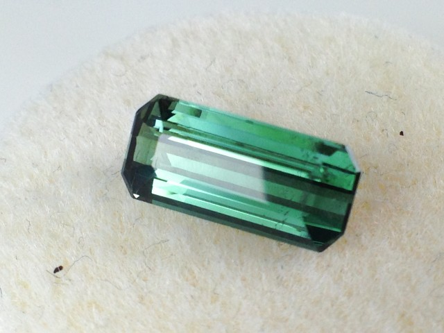 1.55 ct Tourmaline - Octagon Cut Indicolite