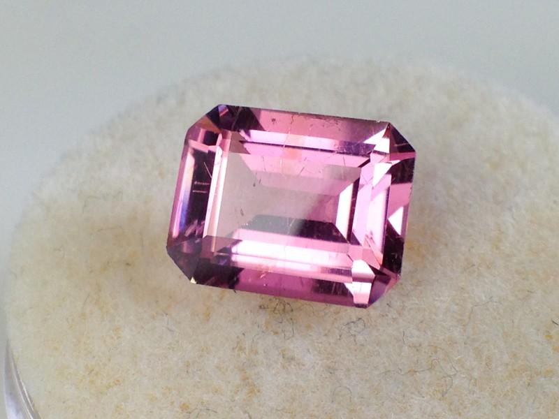 2.18 ct Tourmaline - Old Stock Fine Bright Pink