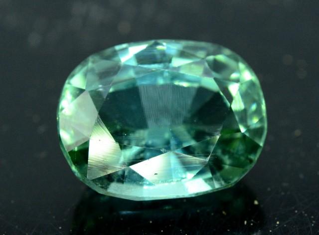 9.30 cts Blue Green Bi Color Untreated Tourmaline Gemstone Afghan