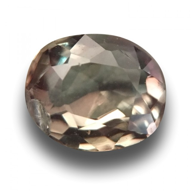0.44 Carats | Natural Green Reddish Alexandrite |Loose Gemstone|New| Sri La