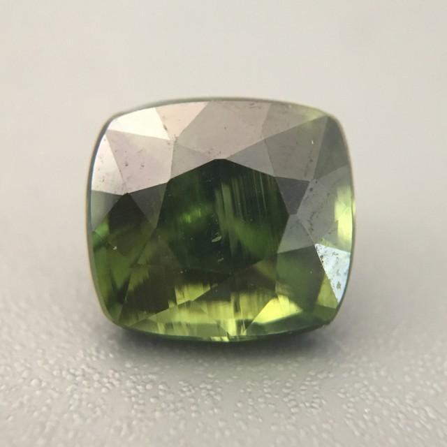 2.61 Carats|Natural Green zircon|Loose Gemstone|New| Sri Lanka