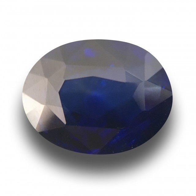 3.02 Carats|Natural  Blue  Sapphire|Loose Gemstone|Sri Lanka - New