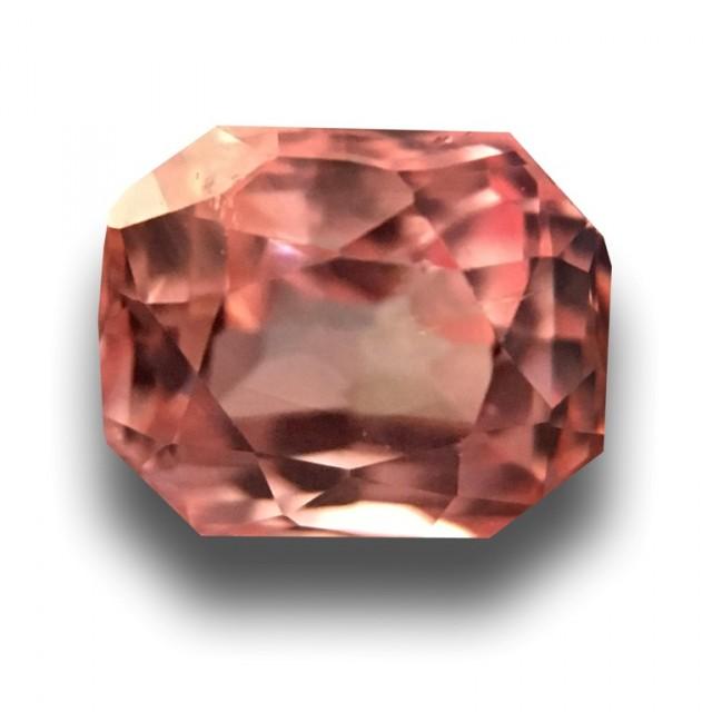 0.76 CTS | Natural Pinkish orange padparadscha |Loose Gemstone|New| Sri Lan
