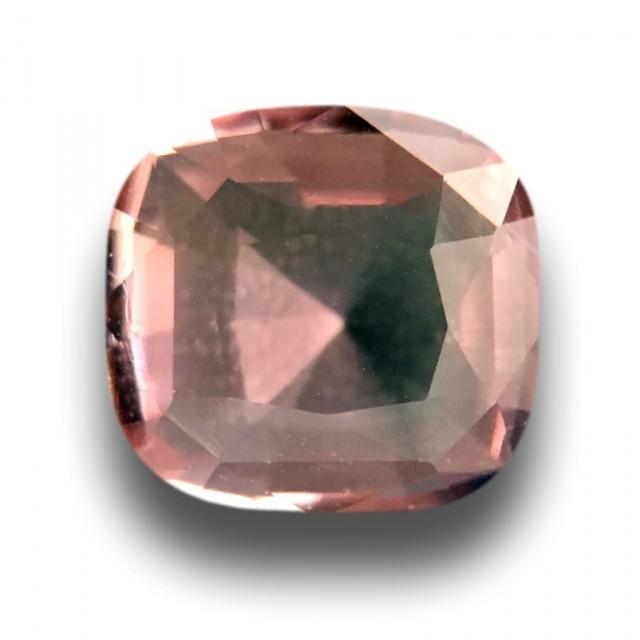 0.71 CTS | Natural Pinkish Orange padparadscha |Loose Gemstone|New| Sri Lan