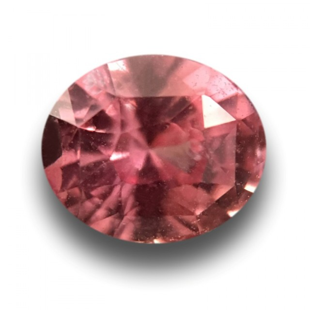 0.76 CTS | Natural Orange Pink Padparadscha |Loose Gemstone|New| Sri Lanka
