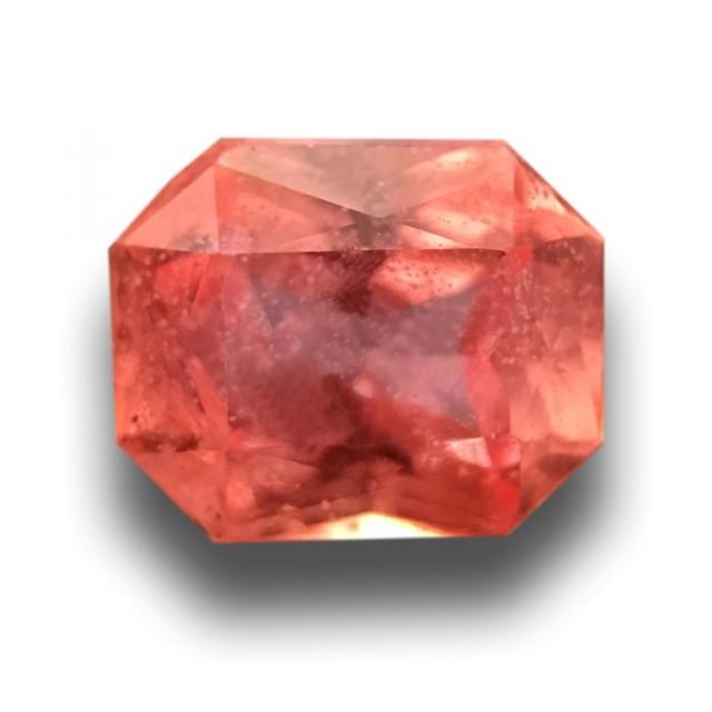 0.57 CTS   Natural Padparadscha   Loose Gemstone   Sri Lanka Ceylon - New
