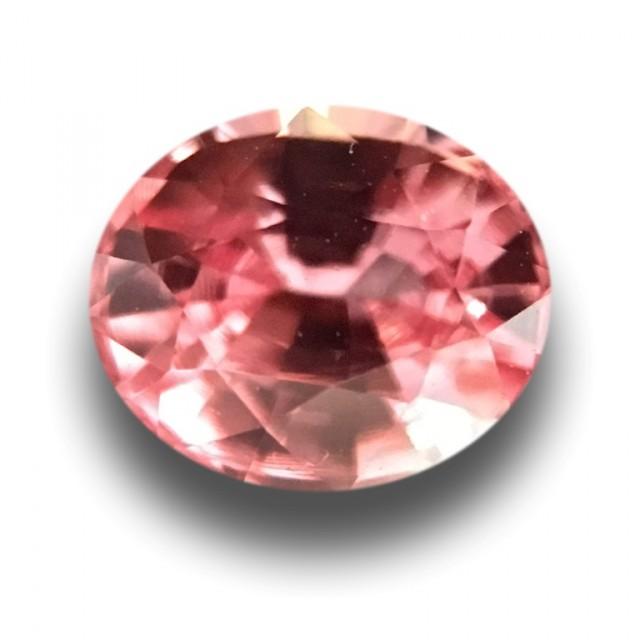 0.53 CTS | Natural Padparadscha |Certified | Loose Gemstone | Sri Lanka - N