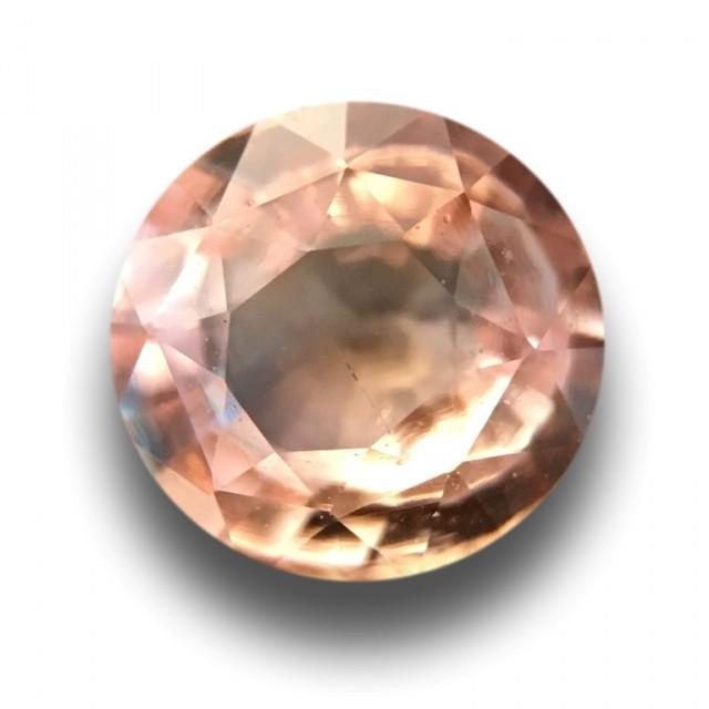 0.66 CTS | Natural Padparadscha |Certified | Loose Gemstone | Sri Lanka - N