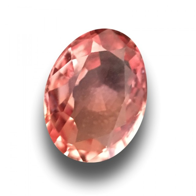 0.79 CTS|Natural Padparadscha|Loose Gemstone|certified|Sri Lanka - New