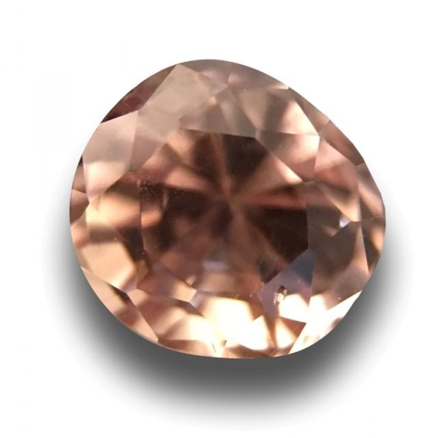 0.72 CTS Natural Pink Orange sapphire |Loose Gemstone|New Certified| Sri La