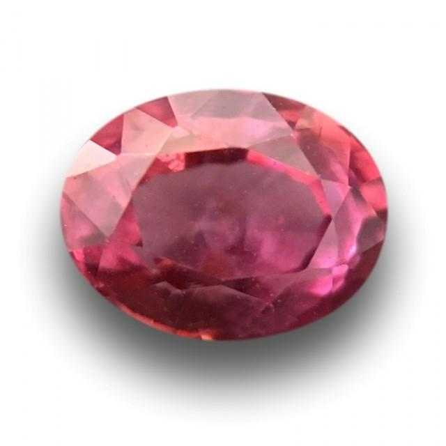 0.78 Carats | Natural Padparadscha | Loose Gemstone | Sri Lanka Ceylon - Ne