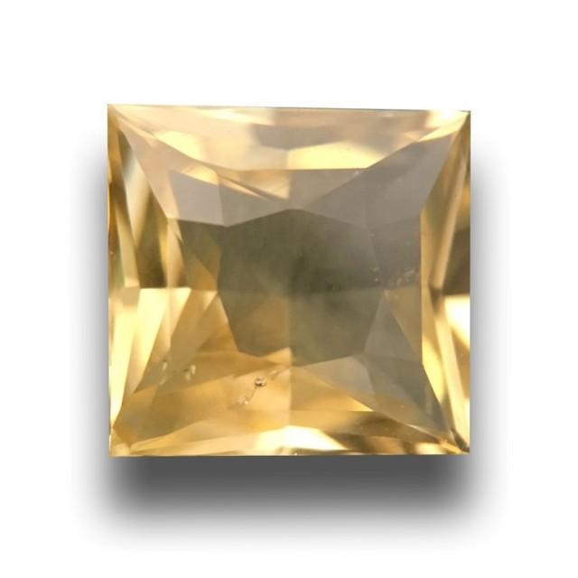 1.14 CTS |Natural Yellow Sapphire | Loose Gemstone| Cretified|Sri Lanka - N