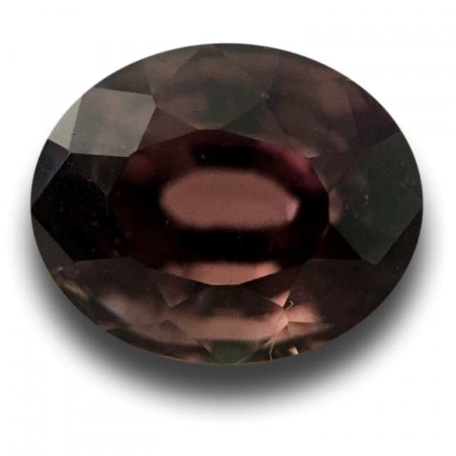 1.66 CTS   Natural brown sapphire  Loose Gemstone New Certified  Sri Lanka
