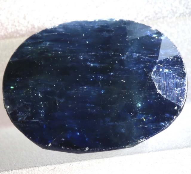 4CTS AUSTRALIAN DARK BLUE SAPPHIRE FACETED PG-2095