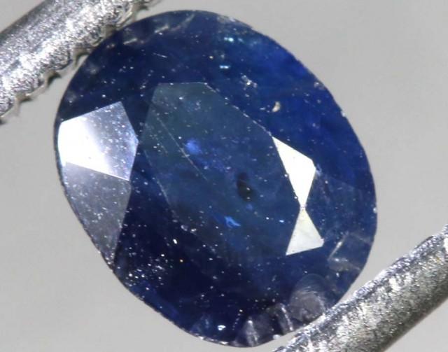 0.70CTS AUSTRALIAN  DARK BLUE SAPPHIRE FACETED PG-2106