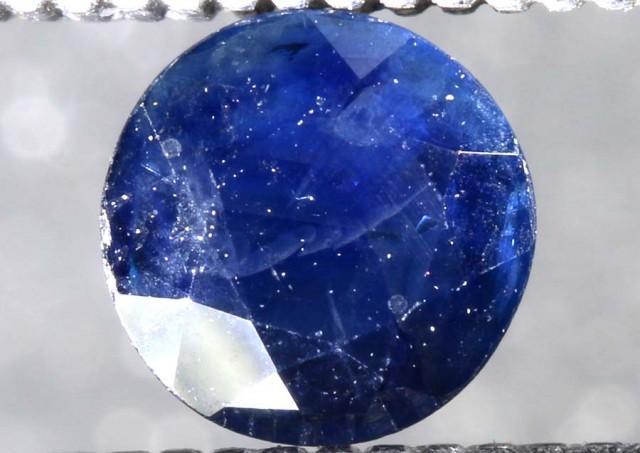 0.55CTS AUSTRALIAN DARK BLUE SAPPHIRE FACETED PG-2107
