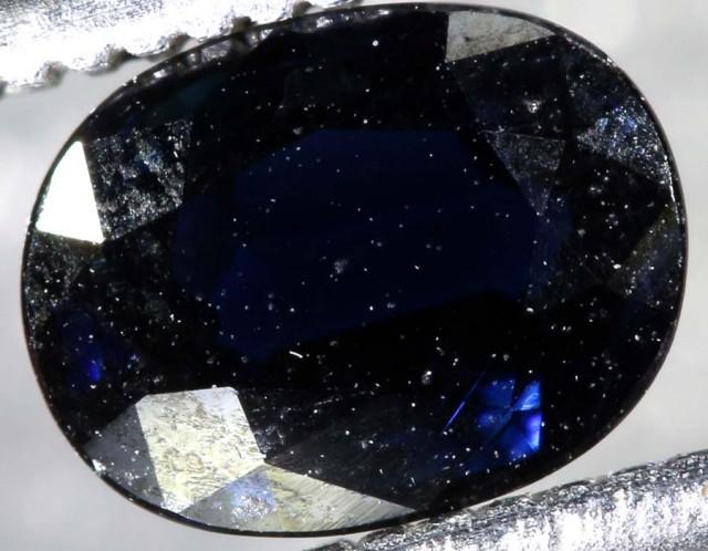 0.9CTS AUSTRALIAN DARK BLUE SAPPHIRE FACETED PG-2111