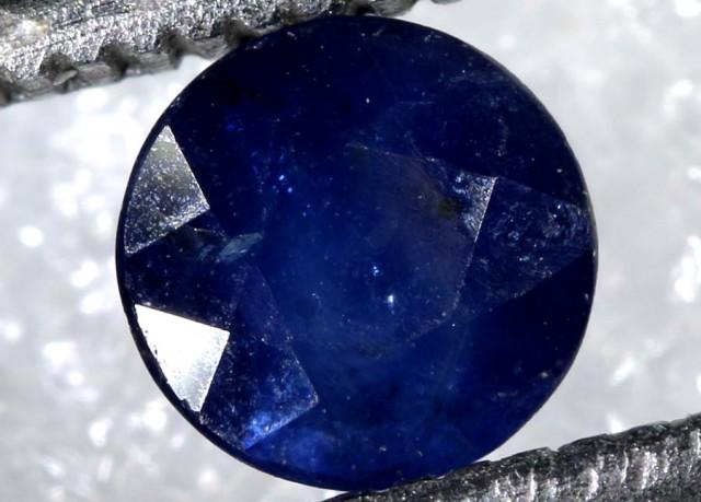 0.80CTS AUSTRALIAN DARK BLUE SAPPHIRE FACETED PG-2114