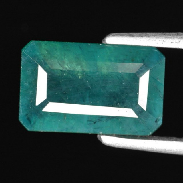 2.10 CTS-BEAUTEOUS-NEON-BLUEISH-GREEN-NATURAL-GRANDIDIERITE-OCTAGON-GEMSTON