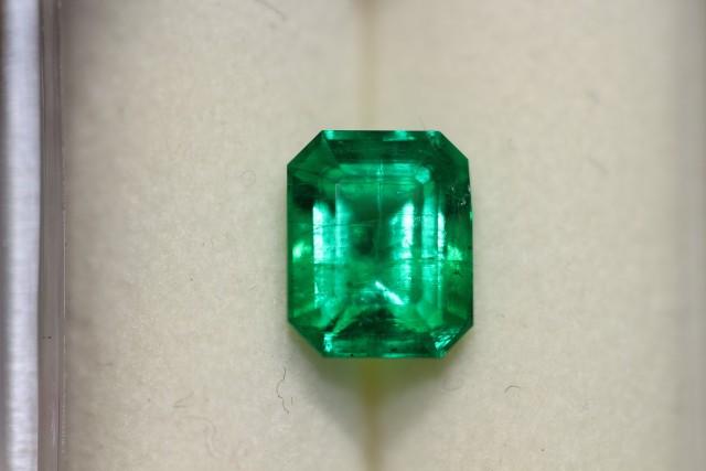 1.55 Carat vivid Green Panjshir Emerald