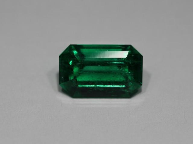 1.91 Carats Vivid Green  (AGL Certified)  AFGHAN (Panjshir) Emerald!