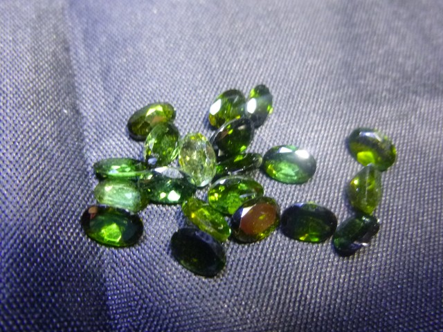 8.88ct Chrome Tourmaline Parcel, 100% Natural Gemstone
