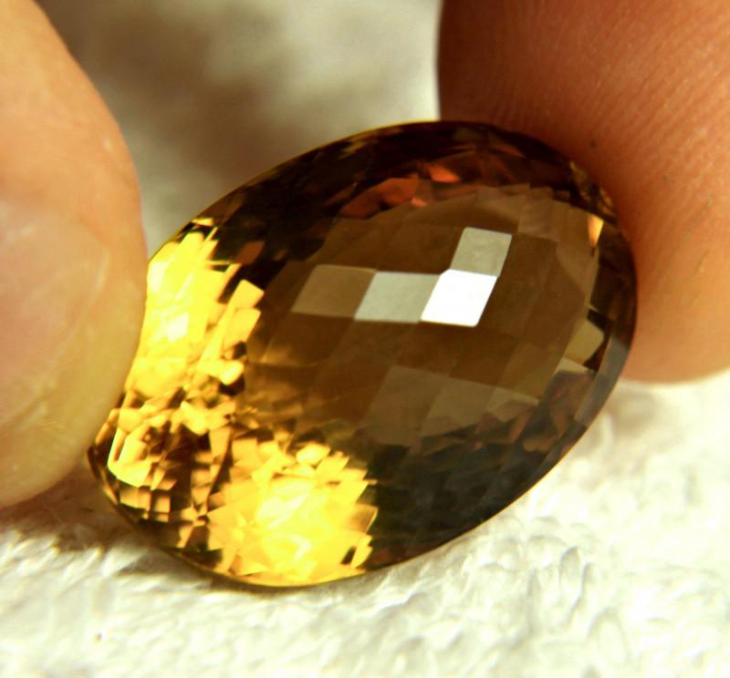 35.32 Carat VVS Golden Brazil Citrine - Beautiful