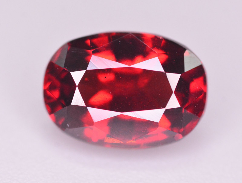3.10 CT NATURAL RHODOLITE GARNET GEMSTONE