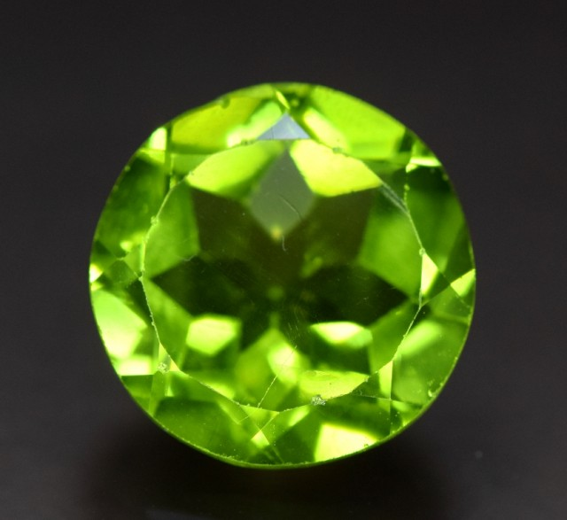 7  cts Natural Olivine Green Natural Peridot Gemstone
