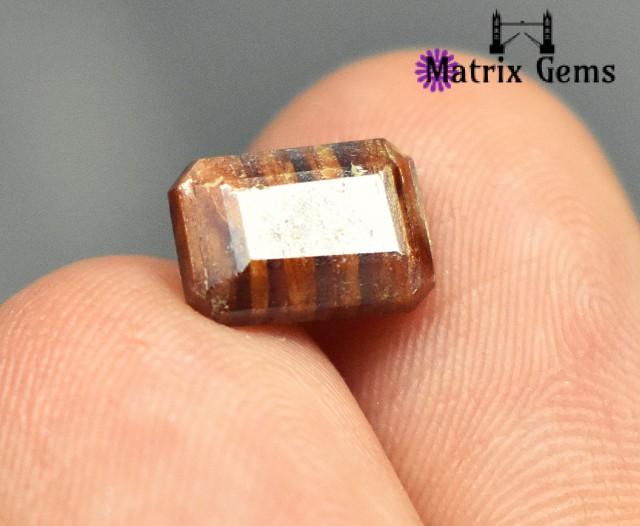 Rare 6.40 ct Natural Tantalite gemstone