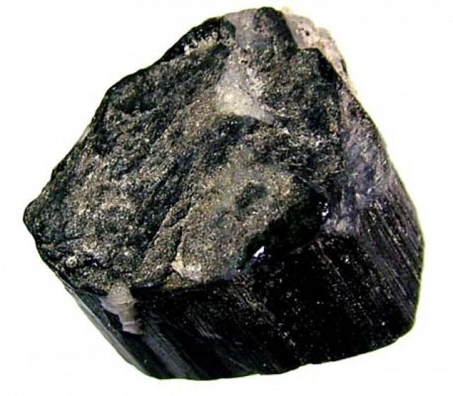 75CTS TOURMALINE BLACK NATURAL ROUGH RG-2155