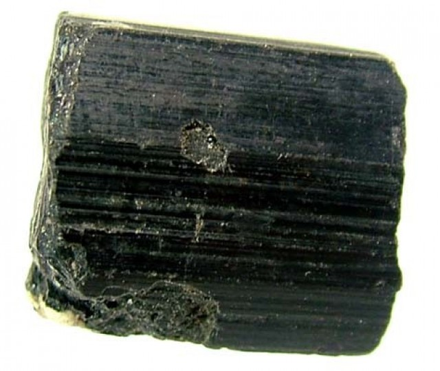 64.10CTS TOURMALINE BLACK NATURAL ROUGH RG-2164