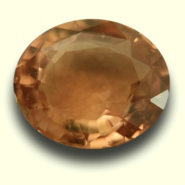 Natural Orange Sapphire |Certified |Sri Lanka - New