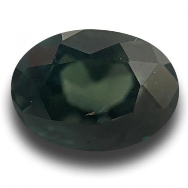 Natural Green sapphire  Loose Gemstone New Certified  Sri Lanka