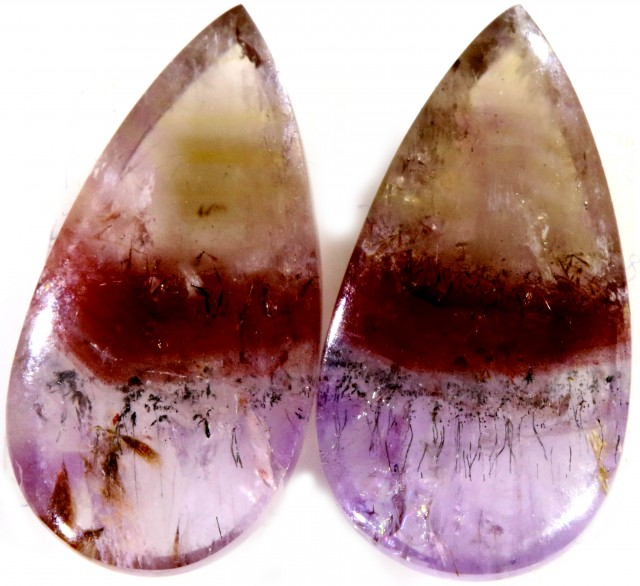 10.20 CTS AMETHYST ''PASSION'' PAIRS-BRAZIL  [STS617]