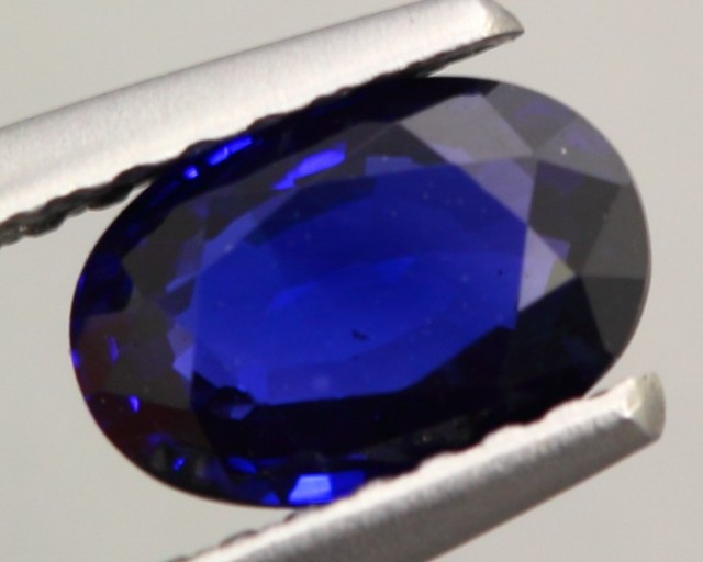 1.094ct Natural Ceylon Blue Sapphire Oval Cut HEATED