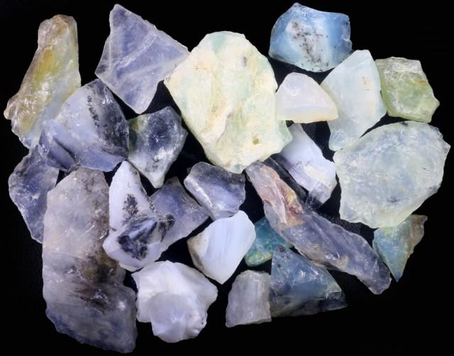 309.65 CTS PERU BLUE OPAL ROUGH PARCEL [F7098]